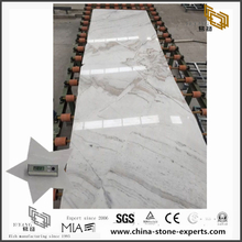 New Polished 2cm thickness Castro White Marble Slab for Sale (YQW-MSA071101)
