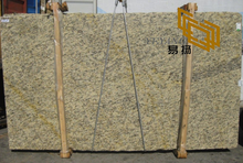 Santa Cecilia Gold Granite Slabs for Kitchen Countertop Choice (YQW-11003G)