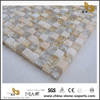 Small Ice Crack Crystal Tile Glass Mosaic For Home Decoration