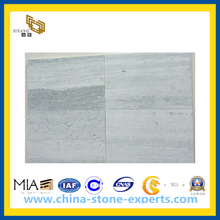 Blue Wood Grainy Marble Tiles for Wall and Floor(YQC)