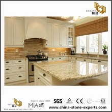 Giallo Ornamental Granite Slab for Kitchen Countertop and Vanity Top