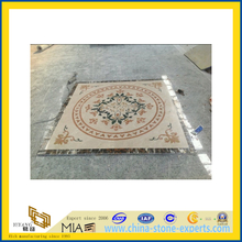 Cheap Price Beige Marble Tile Waterjet Medallions for Floor (YZ-M)