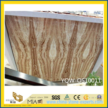 Polished Yellow Onyx Stone Slab for Wall with Cheap Price
