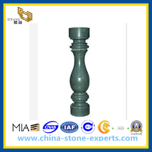 Green Marble Railing Baluster for Outdoor Decoration(YQG-PV1048)