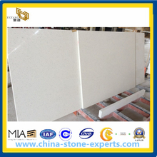 White Quartz Stone Countertop for Kitchen, Bathroom (YYAZ)