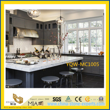 White Marble Stone Countertop for Kitchen / Hotel with Cheap Price