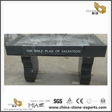 Personalized G654 Granite Memorial Benches