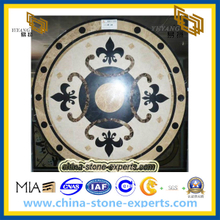Quality Marble Stone Natural Waterjet Medallion For Project