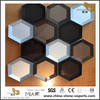 Glass Hexagon Shape Mosaic Tile For Kitchen Wall Tiles Bathroom Tiles