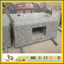 Hot Sale Bianco Taupe White Granite Countertops for Kitchen (YQW-GC052401)