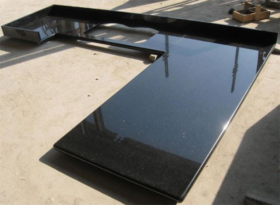 New offer China Black Galaxy Kitchen Countertops for Hotel Design