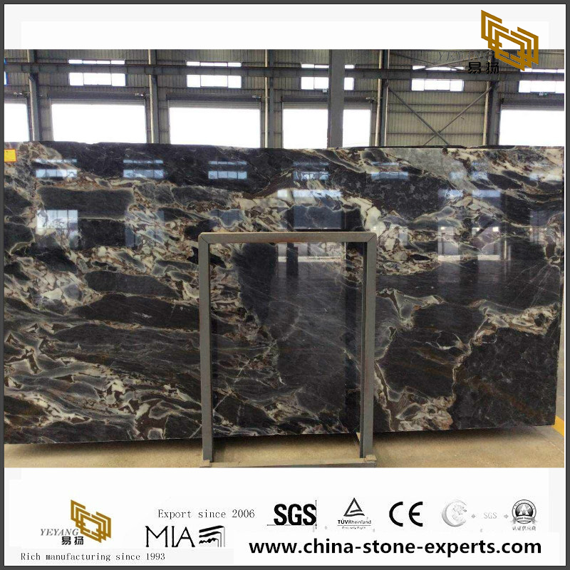 Good sale China Titanic Storm Marble slabs tiles for construction