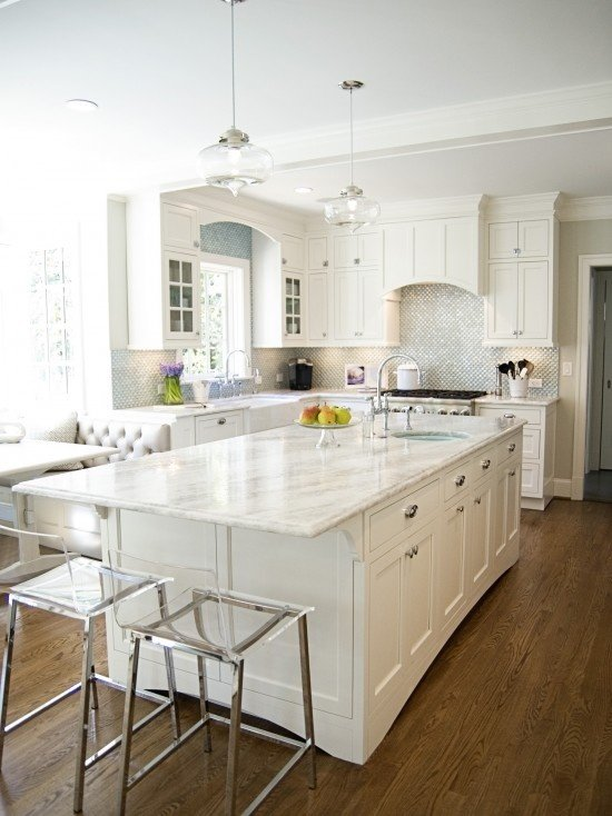 Beautiful quartz countertops with white color Inspire Your Kitchen1.jpg
