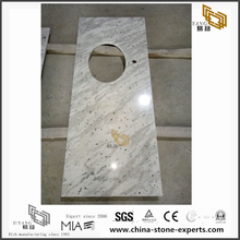 Discount Andromeda White Granite Countertops for Kitchen Design (YQW-GC071407)