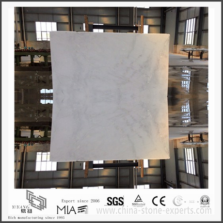 Diy New Arrival Arabescato Venato White Marble for Kitchen Flooring Tiles (YQW-MSA051306)