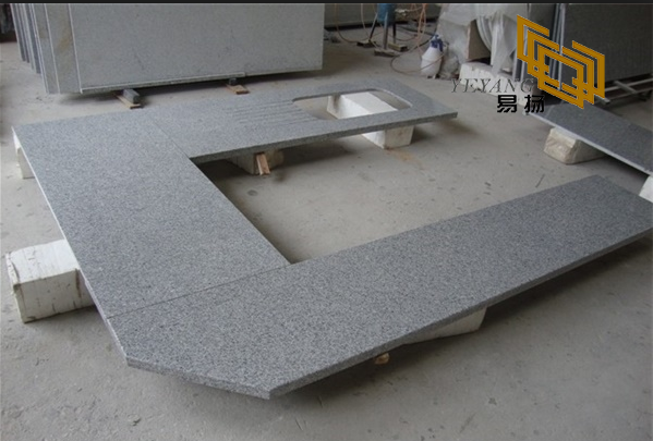G603 Salt & Pebble Granite bathroom vanity tops for interior design (YQW-11027C)