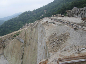 Roman ravertine quarry2