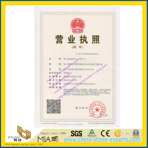 Business-License-of-Xiamen-Yeyang-Import-Export-Co-Ltd-with-YEYANG-Stone-Trade-Company