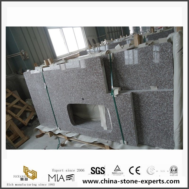 China G664 Misty Brown Granite Counter Tops With cheap Price5