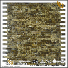 Quality Decoration Marble Stone Strip Mosaic Tiles For Floor And Backsplash