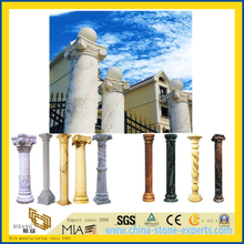 Roman Marble Stone Column Pillar for Building Decorative Material