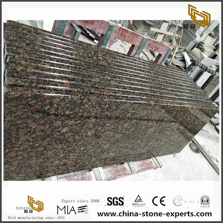 Baltic Brown Granite Countertops and Backsplash
