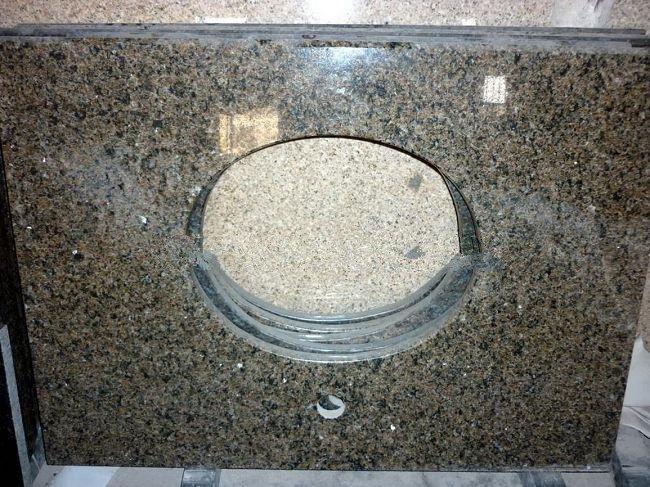 Brown Granite Bathroom Countertops,Table Top