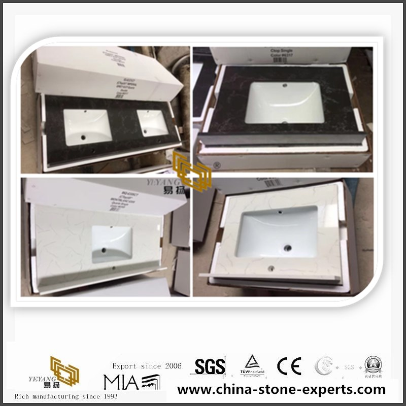 003 quartz vanity tops