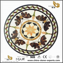 Butterfly Pattern Marble Medallion Floor Stone For Floor Decoration