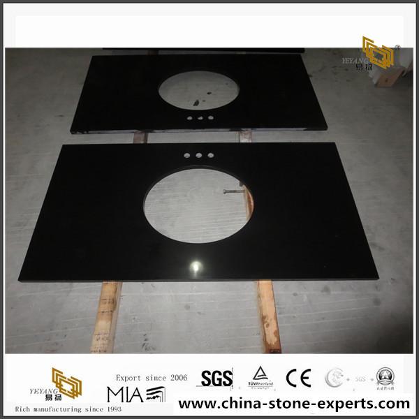 Black Quartz Countertops(YQ-030K) 2