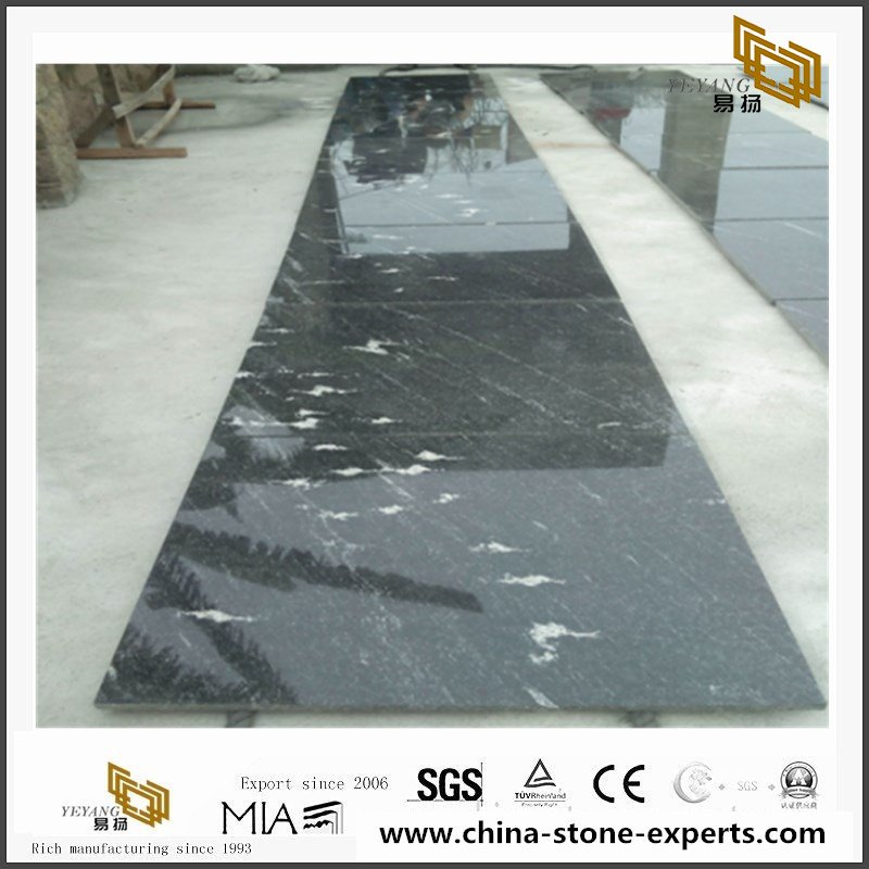Night Snow Granite tiles for residential or commercial projects