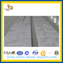 Chinese Carrara White Marble Tile for Flooring, Walling (YQC)