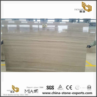 Chinese Natural Crystal Wooden Marble for Floor and Wall Tile