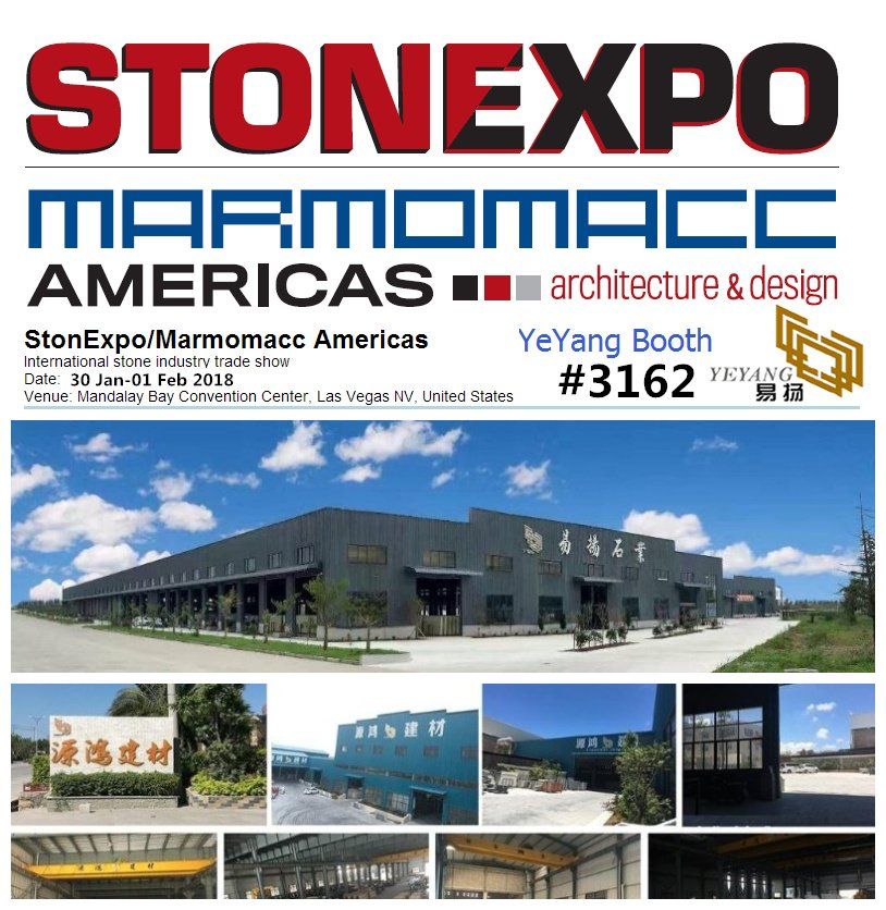 stone expo vegas 2018 yeyang stone factory china
