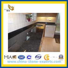 Polished Black Pearl Granite Kitchen Countertop (YQZ-GC1025)