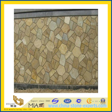 Natural Multicolor Stone Slate for Outdoor Flooring and Wall (YQA-S1035)
