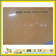 Crystal Yellow Quartz Stone for Indoor Decoration