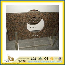 Polished Baltic Brown Granite Countertops for Bathroom/Kitchecn