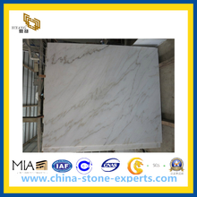 Chinese Carrara White Marble Tile for Wall and Floor(YQC)