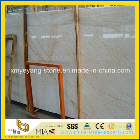 Golden Spider Marble Slab for Interior Walling or Flooring