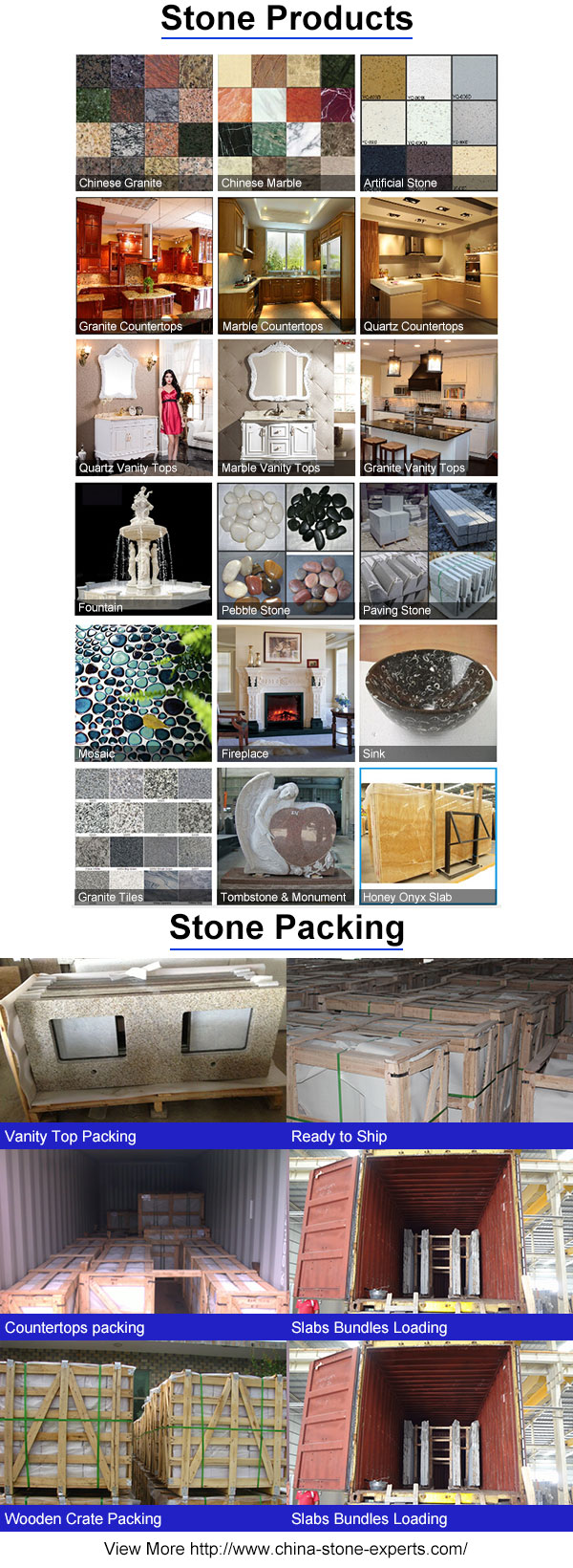 Cheap White/Gray Marble Stone Countertop for Kitchen / Hotel
