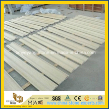 Customize Beige Galala Marble Skirting for Wall or Floor Decoration