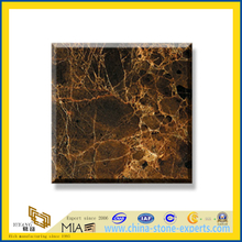 Polished Natural Stone Marron Emperador Marble Slabs for Wall/Flooring (YQC)