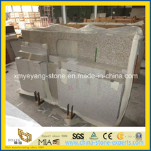 Prefabricated Rusty Yellow Granite Kitchen Countertop for USA Market
