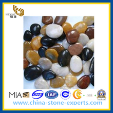 Colorful Cobblestone Pebble stone for Landscape/Paving(YQG-LS1004)