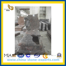 Multicolor Red Granite Tombstone (YQG-CS1033)