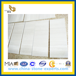 30X60cm Wooden White Marble Tile for Project in Canada (YYT)