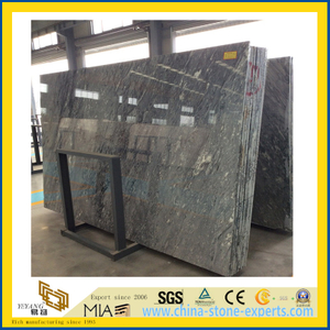 Cheap Chinese Roman Ice Grey Marble Slabs for Countertop/Flooring/Wall Decoration