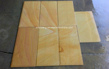 China Yellow Wood Sandstone for Walling, Cladding (YY-SS002)