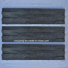 Black Slate Tile, Stack Stone for Wall Cladding